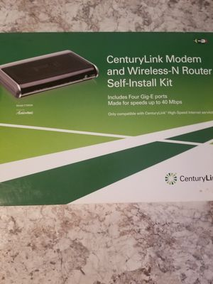 Century link Wi-Fi router and modem for Sale in Vancouver, WA