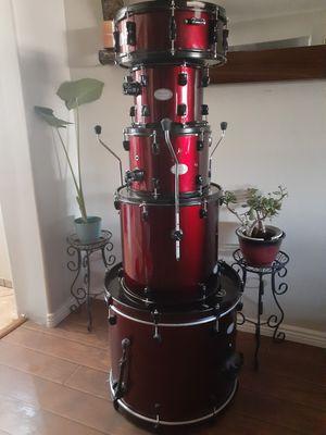 Pear Maroon Drum Set for Sale in Glendale, AZ