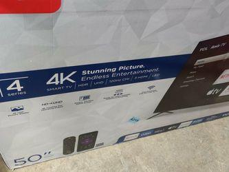 Tcl 50 4k Smart tv for Sale in Novi,  MI