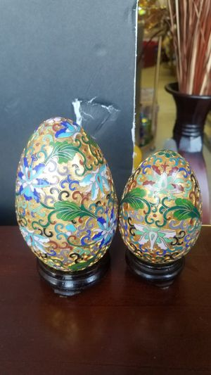 2 closonne eggs for Sale in Wildomar, CA
