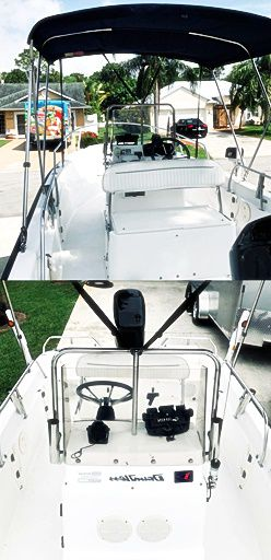 CleanPaint Asking$1OOO For 1999 Boston Whaler Dauntless for Sale in Alexandria, VA