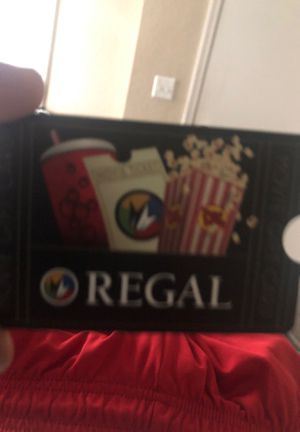 $25 regal cinemas card for Sale in Lake Mary, FL
