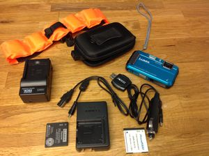 Digital camera kit all supplies accessories great for kayaking cameras for Sale in Seminole, FL