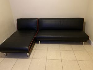 2 Piece Futon Sectional for Sale in Lake Worth, FL