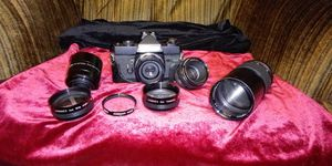 Vintage camera and accessories for Sale in Yakima, WA