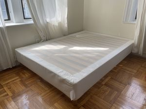 Full White Bed Frame for Sale in Brooklyn, NY