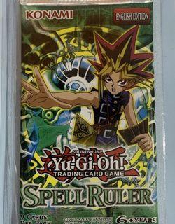 Yu-Gi-Oh! Spell Ruler Magic Ruler Booster Blister Packs! Factory Sealed! SRL for Sale in Los Angeles, CA