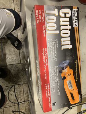 Chicago Electric Power Tools Cutout Tool Brand New Sealed for Sale in Lakewood, CA