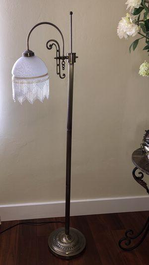Brass floor lamp for Sale in Fort Lauderdale, FL
