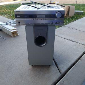 "Onkyo Surround System & 8"" Speaker Box for Sale in Mesa, AZ"