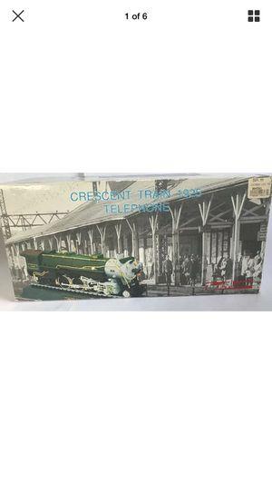 LOCOMOTIVE Crescent 1925 TRAIN TELEPHONE phone Telemania Original Box for Sale in Virginia Beach, VA