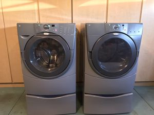 Whirlpool Duet front loading washer/gas dryer for Sale in Chandler, AZ