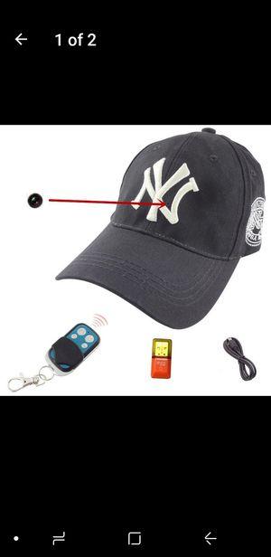 Hd hidden camera in hat. for Sale in Riverside, CA