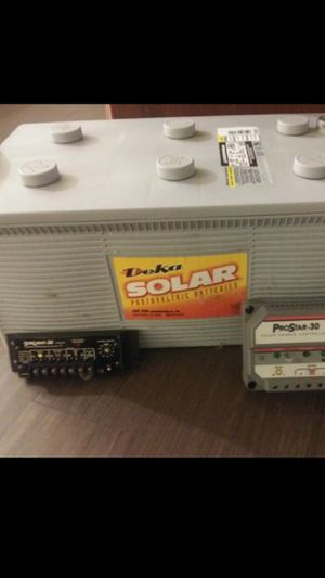 Deka MK Solar / Marine / RV Deep Cycle Gel Battery 12V 20AH 225 Amp 8G8D ( controller and maintainer available) Low Price💥TODAY ONLY💥 for Sale in Tempe, AZ