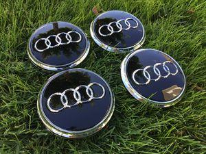 "Audi Q7 Center Caps 77mm 3"" New Wheel Rim Cap Black for Sale in Scottsdale, AZ"