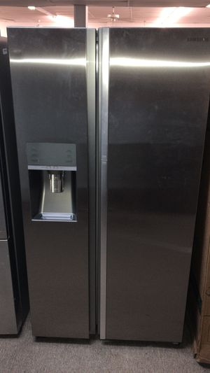 Brand new Samsung showcase door stainless steel now 20% off WE FINANCE for Sale in Houston, TX
