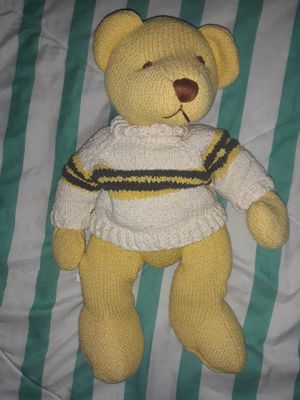 Rare Knickerbocker knitted bear for Sale in Berlin, CT
