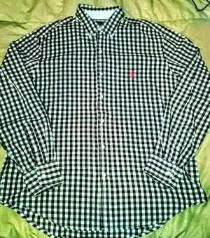 US Polo Assn. Plaid Men's Button Down Shirt (XL) NEW for Sale in Silver Spring, MD