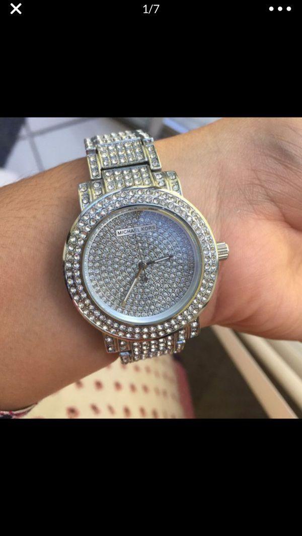 Mk Michael kors bling watch unisex