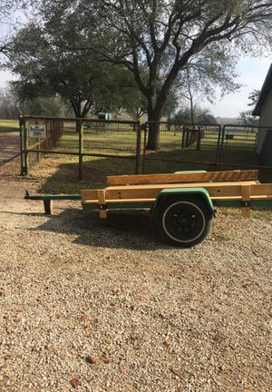 Utility trailer 4x8 for Sale in Houston, TX
