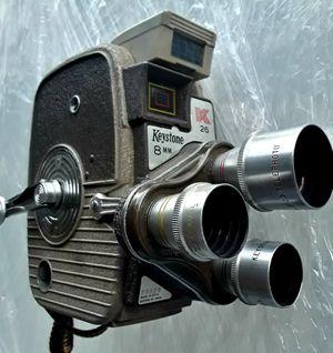 Vintage 8mm FILM Video Camera Bundle - Keystone 3 lens 8mm & Rever 8mm - Make Offer for Sale in Denver, CO
