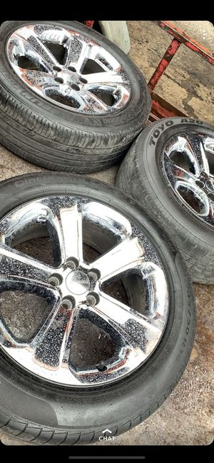 18s Charger rims for Sale in Fayetteville, GA