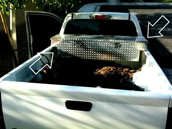 Tool bin for small pick up truck. Willing to negotiate the price.