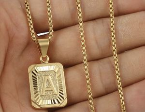 """""""A"""" Initial Name Pendant Necklace NEW 18k Gold Filled for Sale in Melrose Park, IL"""