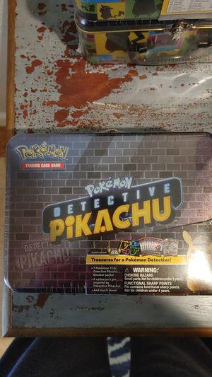 Pokemon Detective pikachu tin for Sale in Gulfport, FL