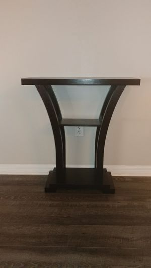 Dark Wood Console Table for Sale in Zephyrhills, FL