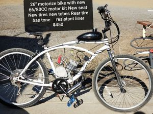 Motorized bikes and bicycle motor kits for Sale in Lake Elsinore, CA