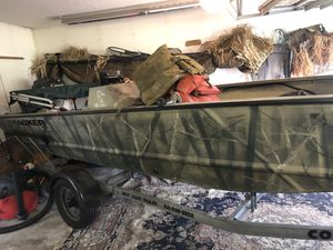 Bass tracker grizzly 1754sc for Sale in Riverview, FL