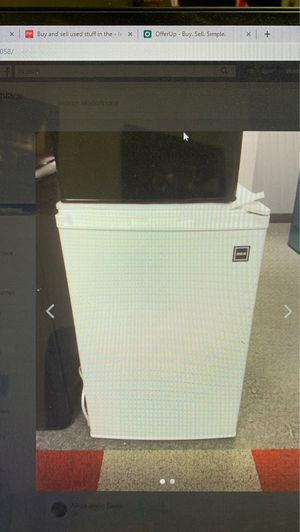 RCA 4.5cf Refrigerator, NEW, White for Sale in Bedford Heights, OH