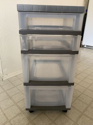 Drawer plastic container for Sale in Tustin, CA