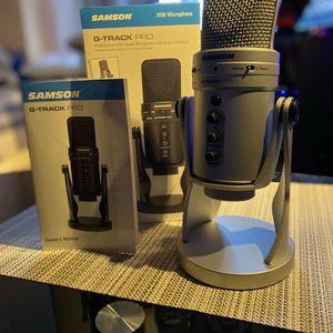 Samson G-TRACK Pro + Studio Headset for Sale in Haines City, FL