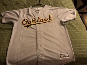 Oakland A's Athletics Jersey Grey Size XLT for Sale for sale  San Diego, CA