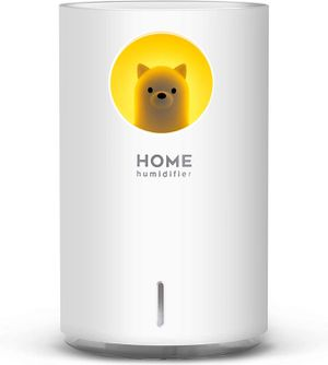 700mL Humidifiers for Bedroom Home Office, Cute Bear Cool Mist Humidifier USB Ultrasonic,2 Mist Mode Timer 18hrs Auto Shut-Off 7 Color LED Lights for Sale in Sterling Heights, MI