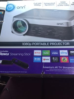 Onn 1080 portable projector for Sale in Lockhart, FL