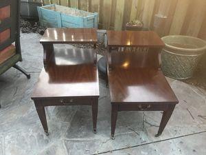 2 mid century Mersman end tables for Sale in Alexandria, VA