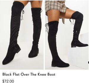 Draw String Knee Boots for Sale in Garland, TX