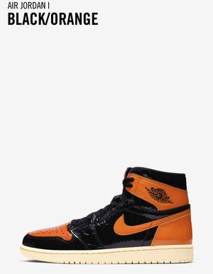 Air Jordan 1 Black/Orange Size 11 for Sale in KEESLER Air Force Base, MS