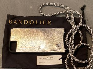 New never used silver leather Bandolier for Sale in Anaheim, CA