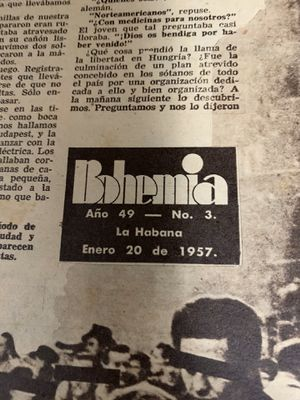 Revistas Bohemias 1957 for Sale in Hialeah, FL