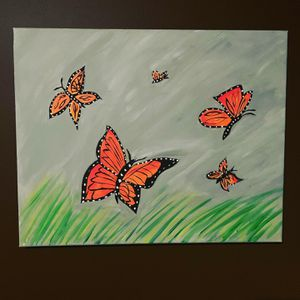 Arcrylic Hand painted canvas for Sale in Overland Park, KS