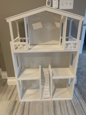 Wooden doll house for Sale in Hopkinton, MA