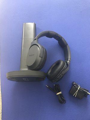 Sony MDR-RF995RK Wireless RF headphones for Sale in Rancho Cordova, CA