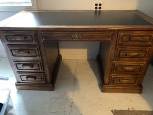 Vintage Executive Desk for Sale in Frederick, MD