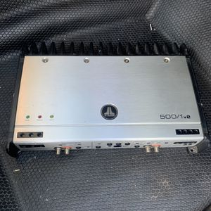 Jl audio Amp 500.1 $260 Obo for Sale in Fremont, CA