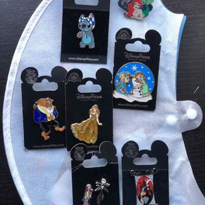 7 Disney Pins $3 Or $21 All for Sale in Inglewood, CA