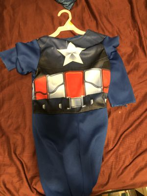 Captain American Halloween outfit onesie for Sale in Oviedo, FL